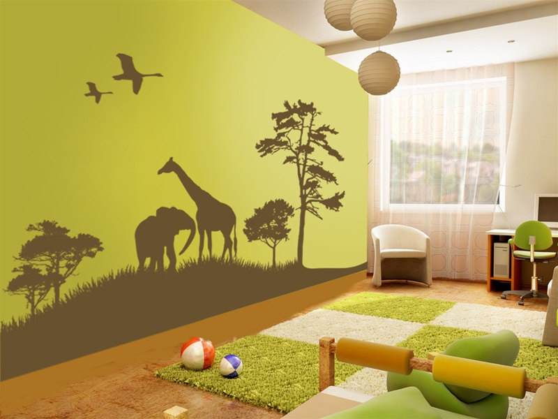 Reasons Why You Should Use Wall Decals For Your Kids Room