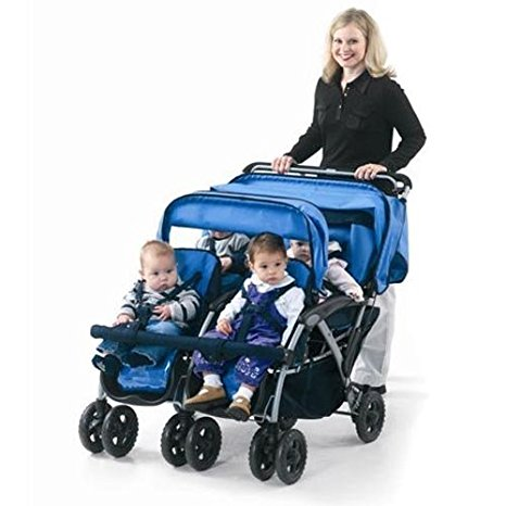 By Multi Seat Push-chair For Commercial Use